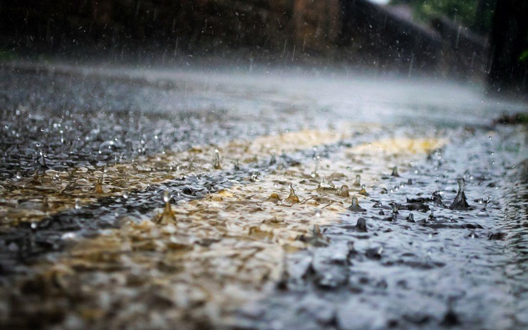 Rain, rain, soakaway…!
